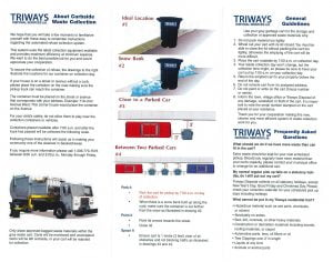 Triways Curbside Waste and Recycling Information